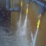 Sweeper Jets for Cooling Tower Basin